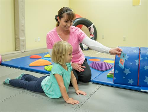 We offer pediatric therapy for kids 0-8