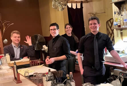 Our staff are ready to shake you a cocktail!