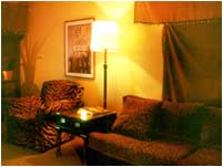 A cozy room at Seattle location
