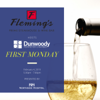 First Monday Networking at Fleming's Prime Steakhouse & Wine Bar
