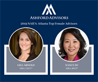 Lisa Arnold and Nancy Du Named NAIFA-Atlanta 2019 Top Female Advisors