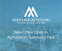 Ashford Advisors Establishes New Office in Alpharetta, GA
