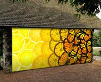 New Mural on Display at the Spruill Gallery