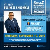 CEO of Fathers Incorporated Wins Atlanta Business Chronicle Award