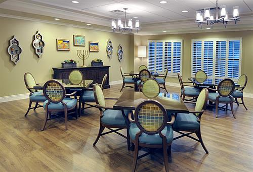 Ackerman Memory Care Dining Room