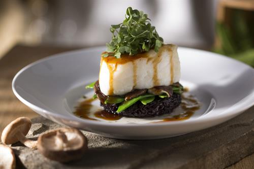 Asian-Glazed Chilean Sea Bass
