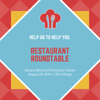 Dunwoody Perimeter Chamber Hosts Restaurant Roundtable featuring Georgia Restaurant Association CEO