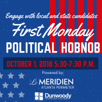 Dunwoody Perimeter Chamber Host First Monday Networking Event as Political Hobnob