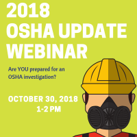 Dunwoody Perimeter Chamber Hosts Webinar for Understanding OSHA Updates in 2018