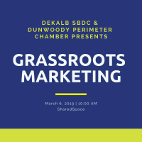 Dunwoody Perimeter Chamber Teams Up with the DeKalb SBDC & SharedSpace of Atlanta for Workshop Series