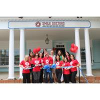 Dunwoody Perimeter Chamber Welcomed Smile Doctors Braces by Awbrey Orthodontics with Ribbon Cutting