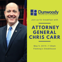 Attorney General Christopher Carr to Address Dunwoody Perimeter Chamber