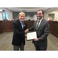 Dunwoody receives Distinguished Budget Presentation Award