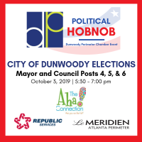Dunwoody Perimeter Chamber Hosts Political Hobnob for Local Election