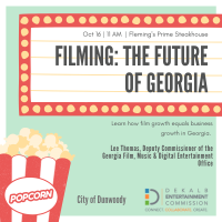 GA Deputy Commissioner of the Film, Music, & Digital Entertainment Office to Address Dunwoody Perimeter Chamber