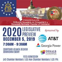The DeKalb & Dunwoody Perimeter Chambers Host their 2020 Legislative Preview & Forum
