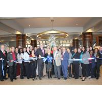 Dunwoody Perimeter Chamber Celebrated Crowne Plaza Atlanta Perimeter at Ravinia's Remodeling with Ribbon Cutting Ceremony