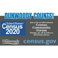 City of Dunwoody and Census Center to partner on Community Forum