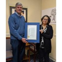 Fulton County Honors Tamara Carrera