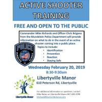 Active Shooter Informational Training