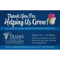 Tranel Teacher Appreciation Event 6/14