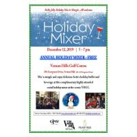 GLMV/Village of Vernon Hills Annual Complimentary  Holiday Mixer