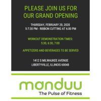 Manduu Grand Opening / Ribbon Cutting - Free