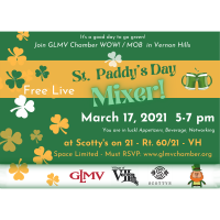 GLMV St. Patty's Day In Person Mixer - FREE
