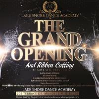 Lake Shore Dance Academy Grand Open/Ribbon Cutting - FREE