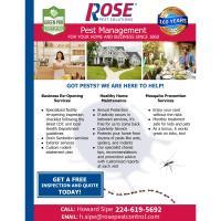 Rose Pest Solutions - Northfield