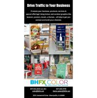 BHFX Color - Large Format Print Services - Libertyville