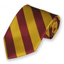 Gallery Image Maroon_and_Gold_Woven_Striped_Tie-IS57NA-0337-2.jpg