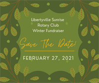 SAVE The DATE--February 27   Sunrise Rotary Fundraiser