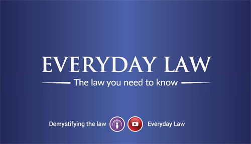 Everyday Law - 1/2 Hr TV Show on Comcast 17 & YouTube