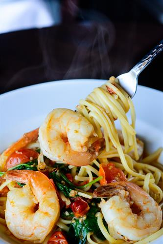 Shrimp & Linguine