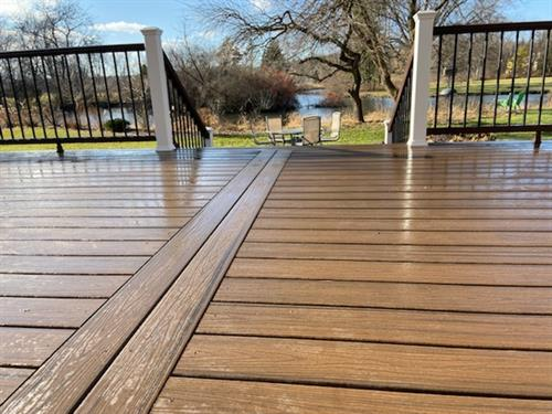 Spiced Rum Platinum Decking Libertyville