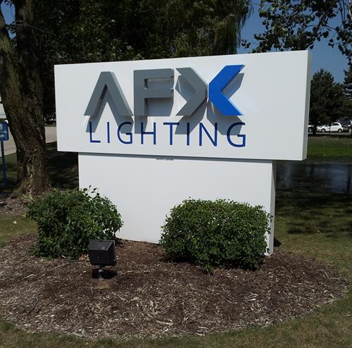 AFX Lighting Freestanding Sign