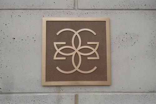 Custom Cast Bronze Plaque
