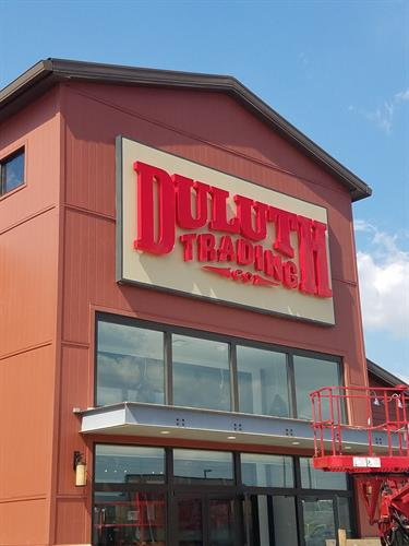 Duluth Trading Company Wall Sign