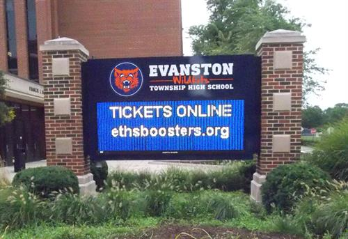 Evanston High School Message Center
