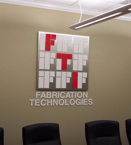 Fabrication Technologies Interior Sign