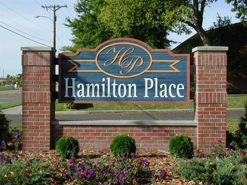 Hamilton Place Freestanding Sign