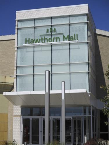 Hawthorn Mall Wall Sign