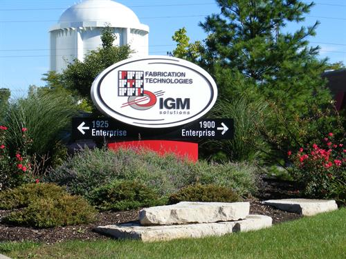 IGM Solutions Freestanding Sign