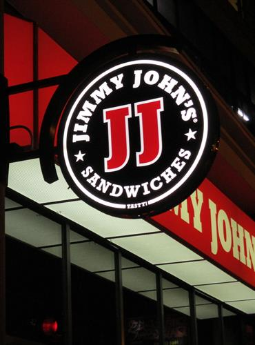 Jimmy John's Wall Sign
