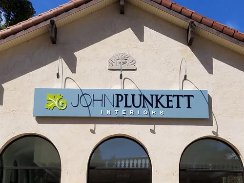 John Plunkett Wall Sign