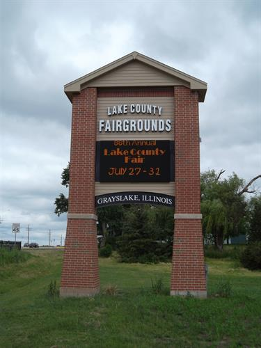 Lake County Fairgrounds Message Center