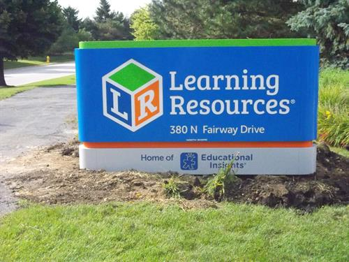 Learning Resources Freestanding Sign