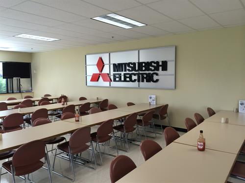 Mitsubishi Electric Interior Sign