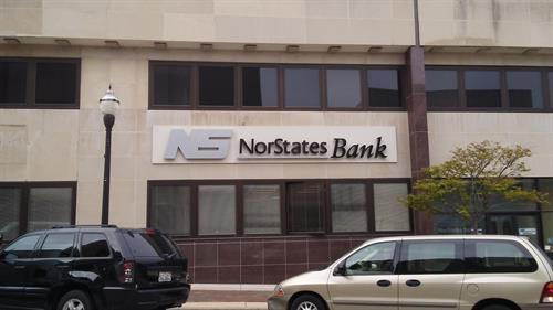 Norstates Bank Wall Sign
